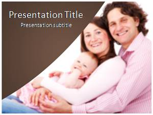 Parents Free Ppt Template Slide1