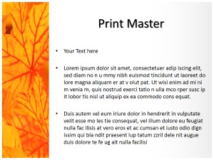 Nature Abstract Free Ppt Template Slide3