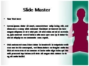 Yoga Asanas Free Ppt Template Slide2