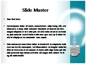 An Idea Free Ppt Template Slide1
