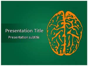 Brain Free Ppt Template Slide1