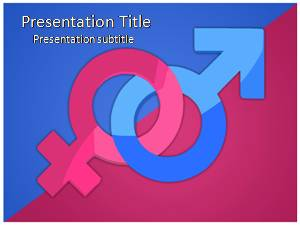 Free gender powerpoint template and themes gender free powerpoint template toneelgroepblik Image collections