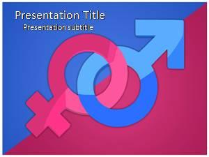 Gender Free Ppt Template Slide1