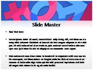 Free gender powerpoint template and themes toneelgroepblik Choice Image