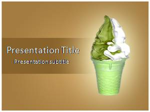 free ice cream powerpoint template and themes