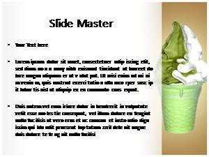 Ice Cream Free Ppt Template Slide1