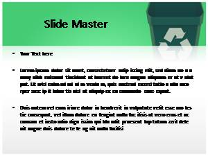 Recycle Free Ppt Template Slide2