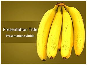 Bananas Free Ppt Template Slide1