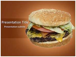 Burger Free Ppt Template Slide1