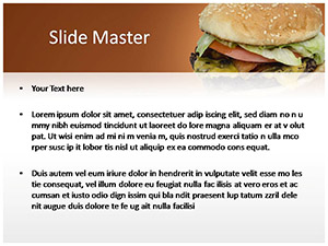 Burger Free Ppt Template Slide2