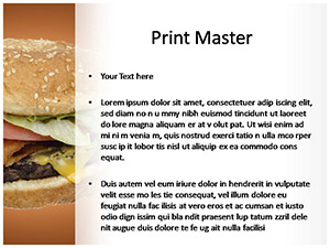 Burger Free Ppt Template Slide3
