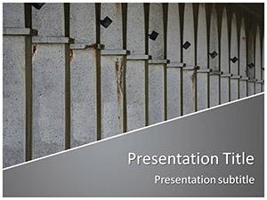 Columns Free Ppt Template Slide1
