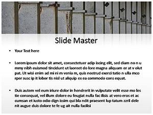 Columns Free Ppt Template Slide2