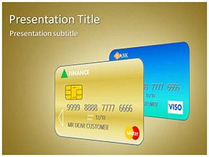 Credit Debit Card Free Ppt Template Slide1