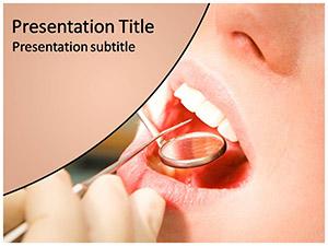 Dental Test Free Ppt Template Slide1