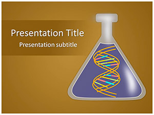 DNA Free Ppt Template Slide1