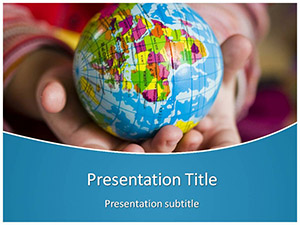 Earth Free Ppt Template Slide1
