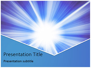 Light Abstract Free Ppt Template Slide1