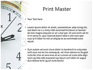 Time Management Free Ppt Template Slide3