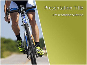 Cycling Free Ppt Template Slide1