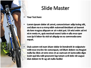 Cycling Free Ppt Template Slide2