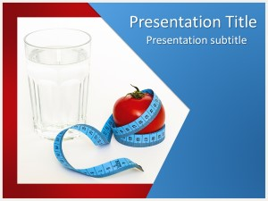 Health Tips Free Ppt Template Slide1