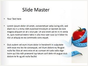 Health Tips Free Ppt Template Slide2
