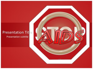 Stop Aids Free Ppt Template Slide1