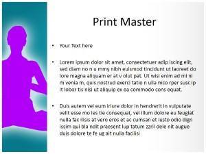 Yoga Free Ppt Template Slide3