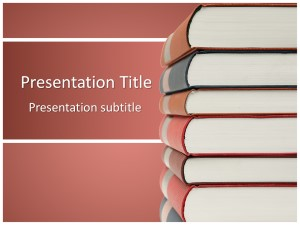 Books Free Ppt Template Slide1
