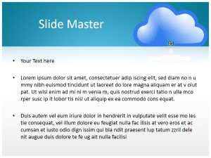 Cloud Computing Free Ppt Template Slide2