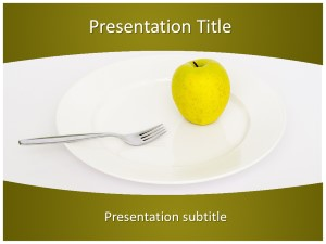 Dieting Free Ppt Template Slide1