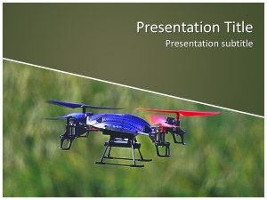 Drone Free Ppt Template Slide1