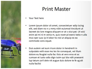 Drone Free Ppt Template Slide3