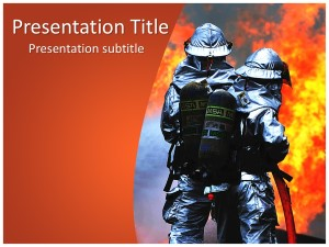 Firefighters Free Ppt Template Slide1