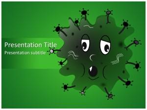 Germ Free Ppt Template Slide1
