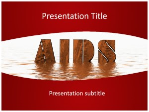 Aids Free Ppt Template Slide1