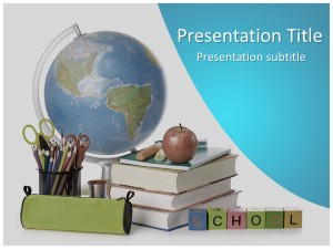 Back to School Free Ppt Template Slide1