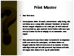 Question Mark Free Ppt Template Slide3