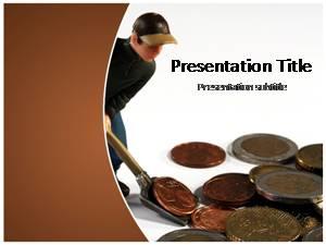 Saving Money Free Ppt Template Slide1