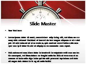 Stopwatch Free Ppt Template Slide2