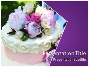 Wedding Cake Free Ppt Template Slide1