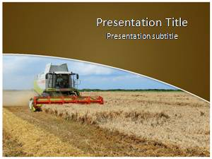 Agriculture free powerpoint template and background agriculture free powerpoint template toneelgroepblik Images