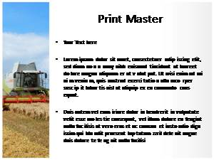 Agriculture Free Ppt Template Slide3