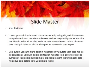 Leaf Abstract Free Ppt Template Slide2