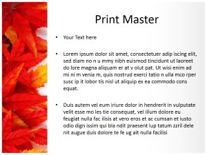Leaf Abstract Free Ppt Template Slide3