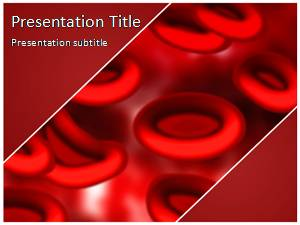 blood ppt templates free download - blood cells free powerpoint template and background