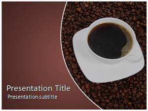 Coffee Free Ppt Template Slide1