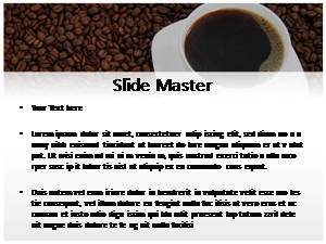 Coffee Free Ppt Template Slide2