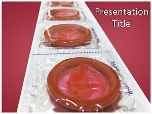 Condom Free Ppt Template Slide1